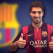 Barça verpflichtet Suárez - «Effizientester Stürmer» (Foto)
