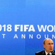Kremlchef Putin verspricht visafreie WM 2018 (Foto)