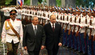 Putin auf Lateinamerika-Reise (Foto)