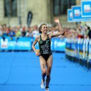 Triathlon-Olympiasiegerin Emma Snowsill beendet Karriere (Foto)