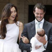 Luxemburgische Prinzessin Amalia getauft (Foto)