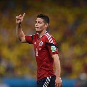 James Rodríguez: Kroos wäre großer Gewinn für Real (Foto)