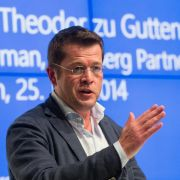 Ex-Minister Guttenberg berät Startup für Cyberwährungen (Foto)