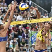 Rein deutsches Frauen-Finale bei Beach-Turnier in Gstaad (Foto)