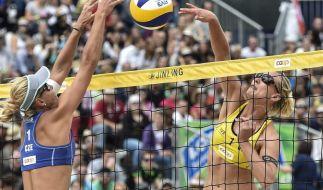 Rein deutsches Frauen-Finale bei Beach-Turnier in Gstaad (Foto)