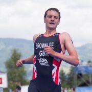 Triathlon: Deutsche ohne Siegchance - Brownlee gewinnt (Foto)