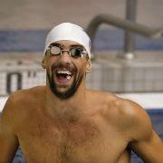 Schwimmen: Zweiter Sieg von Phelps über Lochte (Foto)