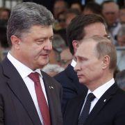 Kreml sieht Chance für Treffen von Putin und Poroschenko (Foto)