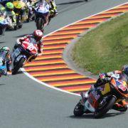 Miller gewinnt Moto3-Rennen auf dem Sachsenring (Foto)