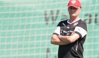 Veh zufrieden mit erstem VfB-Trainingslager (Foto)