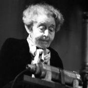 150. Geburtstag von Ricarda Huch (Foto)