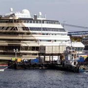 Letzter Akt der «Costa Concordia»-Bergung beginnt planmäßig (Foto)