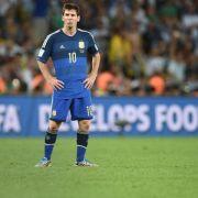Gescheitert: Messi läuft WM-Titel weiter hinterher (Foto)