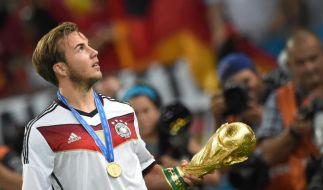 Mario Götze machte Deutschland mit seinem Treffer zum Weltmeister. (Foto)
