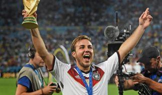 Götzendämmerung: Mario Götze hatte das entscheidende Tor im WM-Endspiel erzielt. (Foto)