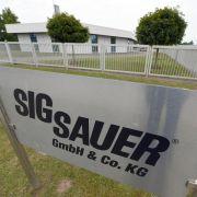 Neue Durchsuchungen bei Waffenexporteur Sig Sauer (Foto)