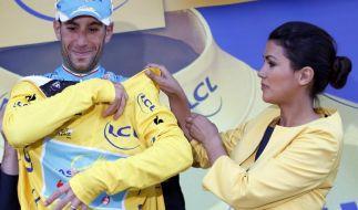 Neuer Tour-Patron Nibali leidet mit Contador (Foto)