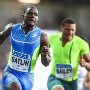 Sprinter Gatlin weiter in Topform: 9,82 Sekunden in Linz (Foto)