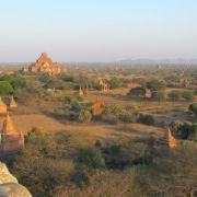 Myanmars Tempel in Bagan erstrahlen in falschem Glanz (Foto)