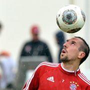 Ribéry ins Bayern-Training eingestiegen (Foto)