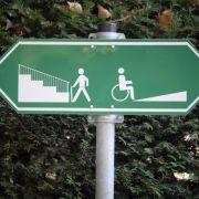 Nicht barrierefrei: In der Arbeitswelt hakt es mit der Inklusion (Foto)