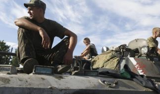 Viele Tote bei Gefechten in Ukraine (Foto)