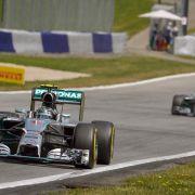 Mercedes-Pilot Rosberg will Traumwoche krönen (Foto)