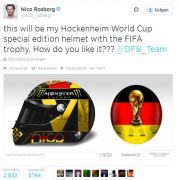 Fifa will WM-Helm von Nico Rosberg verbieten (Foto)