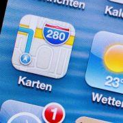 Lautstärke in Apples iOS-Navigation verstellen (Foto)