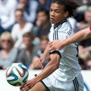 Schalker Leroy Sane verletzt (Foto)
