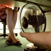 So bleiben Arbeitnehmer bei Hitze produktiv (Foto)