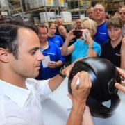 Formel-1-Pilot Felipe Massa ist abergläubisch (Foto)