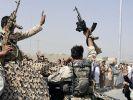 Taliban-Kämpfer greifen Kabuler Flughafen an (Foto)