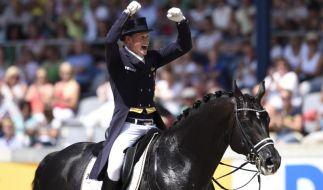 Umjubeltes Comeback von Totilas mit Doppel-Sieg gekrönt (Foto)