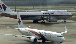 Flugzeuge der Malaysia Airlines auf dem Flughafen von Kuala Lumpur. (Foto)
