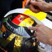 Rosbergs Helm sorgt in Hockenheim für Ärger mit der FIFA (Foto)