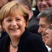 Die Kanzlerin feiert Geburtstag: Lob und Glückwünsche zum 60. (Foto)