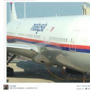 Wieder Katastrophe bei Malaysia Airlines - nur Zufall? (Foto)
