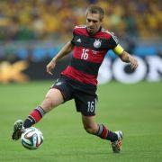 Zehn Jahre Nationalspieler Lahm - 113. Länderspiele (Foto)