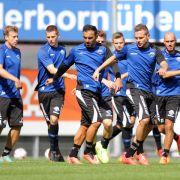 SC Paderborn bestreitet Testspiel gegen FCEverton (Foto)