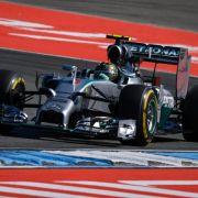 Rosberg mit Bestzeit im Auftakttraining von Hockenheim (Foto)