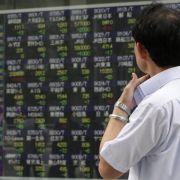 Flugzeugabsturz lässt Aktienkurse kräftig nachgeben (Foto)