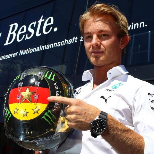 Erster Heimsieg für Nico Rosberg (Foto)