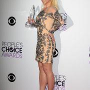 Etwa genauso viel wiegt Britney Spears (59 Kilo bei 1,63 m).