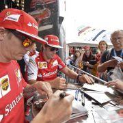 Alltagsflucht: Ferrari hat nur in Go-Karts Spaß (Foto)