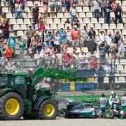 Getriebewechsel: Hamilton weitere fünf Plätze zurück (Foto)