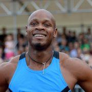 Ex-Weltrekordler Powell fehlt noch die Spritzigkeit (Foto)