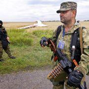 Separatisten behindern Arbeit am MH017-Wrack (Foto)