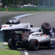 Williams überschlägt sich: Massa nach Unfall wohlauf (Foto)