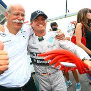 Hockenheim-Sieger Rosberg: «Auto lief gigantisch» (Foto)